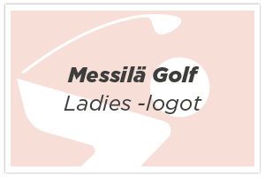 Messilä Golf ladies -logot