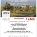 Kevään opetusmatka Golfkoulu Marko Kumm
