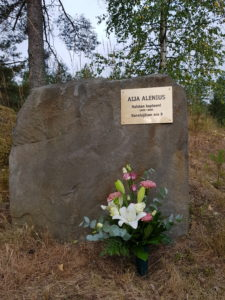 Kiitos osallistumisesta Aija Aleniuksen muistokilpailuun