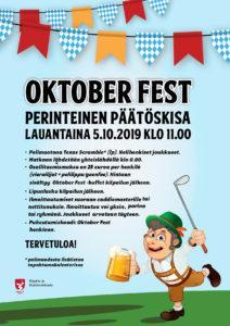 Oktoberfest lähestyy, ilmoittaudu mukaan