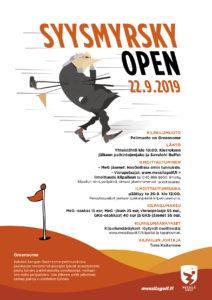Ilmoittaudu mukaan, Syysmyrsky Open 22.9.