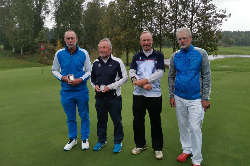 Messilän Golfin Markku Utille kultaa ja Juha Sillmanille pronssia